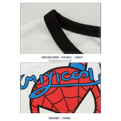 Cute Cartoon Spiderman Graphic Tee