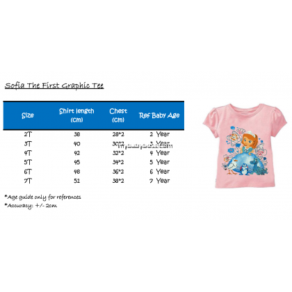 Sofia The First Toddler Graphic Tee
