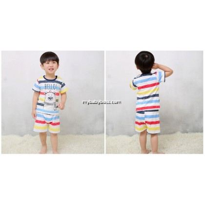 Rainbow Bear Clothing Set (Multi-color)