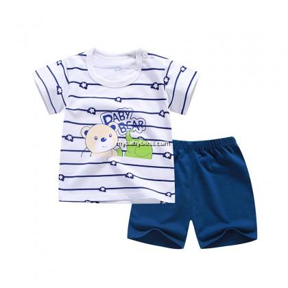 B067 Baby Bear Matching Set (White)