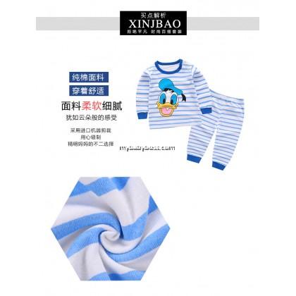 Cute Bear Baby & Toddler Sleepwear (Blue)