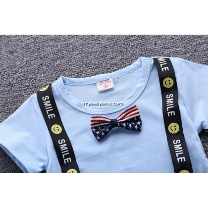 T-Shirt with Bowtie