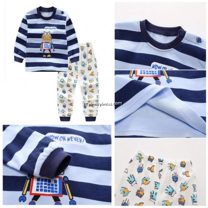 P252 Now or Never Robot Baby & Toddler Sleepwear