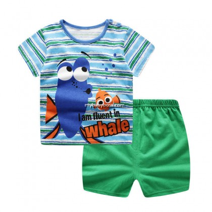 FM00259 Dory and Nemo Matching Set (Blue & Green)