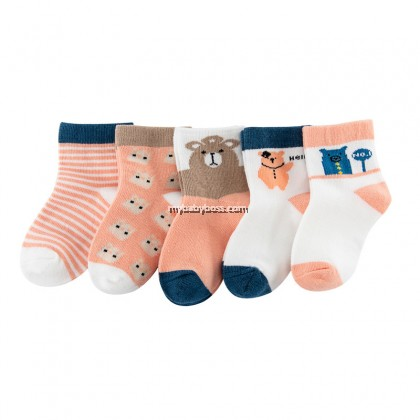 FS300 Hello Bear Toddler socks