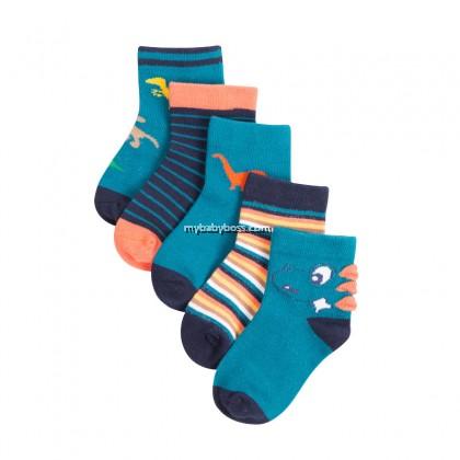 FS304 Dinosaur Toddler socks