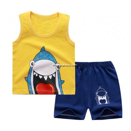 FM296 Hi Shark Sleeveless Matching Set