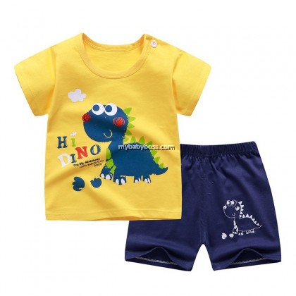 FM295 Hi Dino Cute Matching Set
