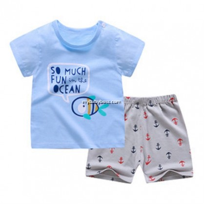 FM293 Fun in the Ocean Matching Set