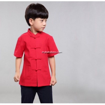 Chinese New Year Boy Shirt (Top Only)